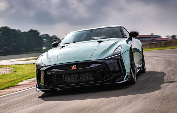 Primele imagini cu versiunea de producție a lui Nissan GT-R50 by Italdesign: modelul sport va fi asamblat în doar 50 de unități - Poza 1