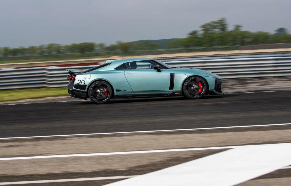 Primele imagini cu versiunea de producție a lui Nissan GT-R50 by Italdesign: modelul sport va fi asamblat în doar 50 de unități - Poza 3