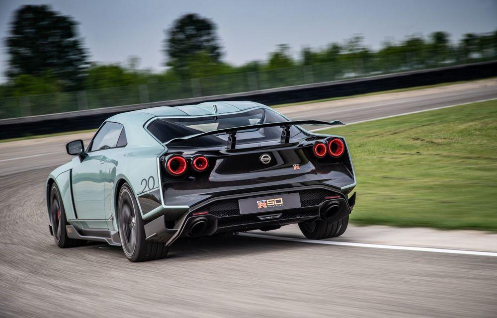 Primele imagini cu versiunea de producție a lui Nissan GT-R50 by Italdesign: modelul sport va fi asamblat în doar 50 de unități - Poza 5