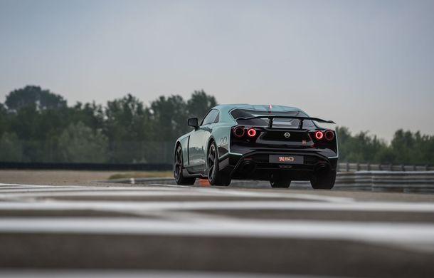 Primele imagini cu versiunea de producție a lui Nissan GT-R50 by Italdesign: modelul sport va fi asamblat în doar 50 de unități - Poza 6