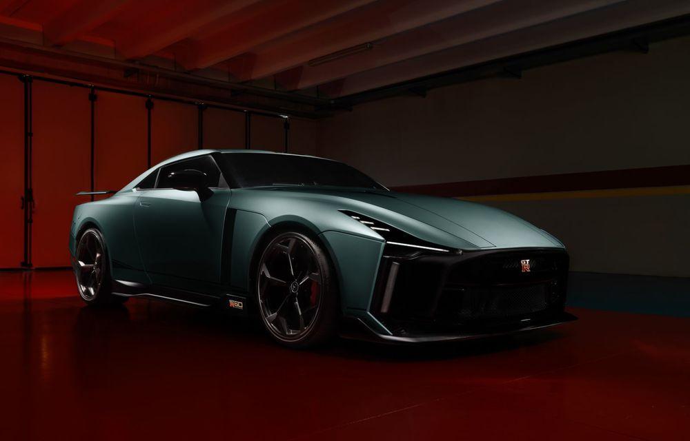 Primele imagini cu versiunea de producție a lui Nissan GT-R50 by Italdesign: modelul sport va fi asamblat în doar 50 de unități - Poza 7