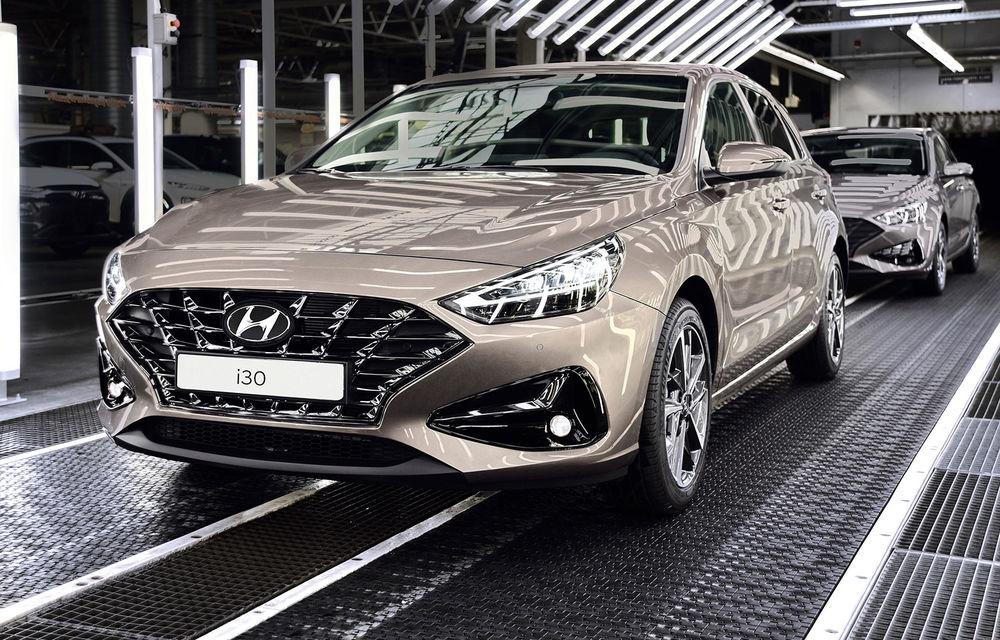 Hyundai pregătește startul producției lui i30 facelift: modelul de clasă compactă va fi asamblat în Cehia, începând cu 25 mai - Poza 1