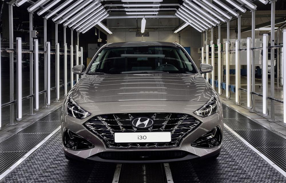 Hyundai pregătește startul producției lui i30 facelift: modelul de clasă compactă va fi asamblat în Cehia, începând cu 25 mai - Poza 2
