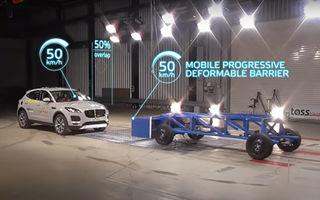 Euro NCAP introduce noi teste de siguranță: simularea impactului frontal între mașini care circulă cu 50 km/h și evaluarea tuturor pasagerilor după accident