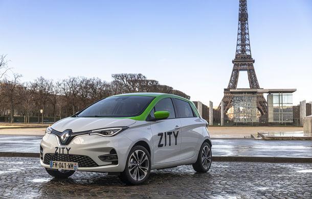 Renault lansează serviciul de car-sharing Zity la Paris: 500 de unități Zoe, prețuri de la 35 de euro pe zi - Poza 1