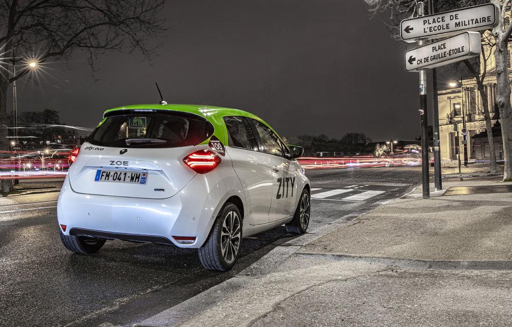 Renault lansează serviciul de car-sharing Zity la Paris: 500 de unități Zoe, prețuri de la 35 de euro pe zi - Poza 3