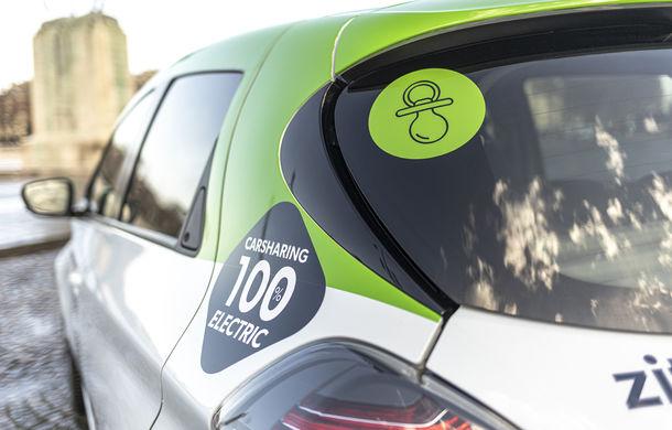 Renault lansează serviciul de car-sharing Zity la Paris: 500 de unități Zoe, prețuri de la 35 de euro pe zi - Poza 4