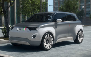 """Fiat oferă detalii despre versiunea de serie a conceptului electric Centoventi: va prelua numele Panda și va avea un preț """"incredibil"""" de mic"""