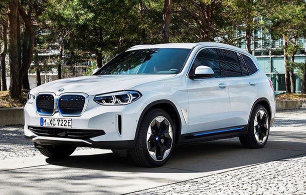 BMW anunță că producția lui iX3 va începe în vara acestui an: SUV-ul electric va avea 286 de cai putere și autonomie de 440 de kilometri - Poza 1