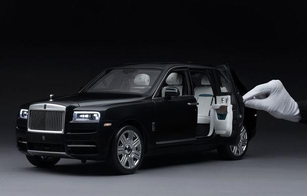 Rolls-Royce lansează macheta SUV-ului Cullinan la scara 1:8: producția unui exemplar are loc în 450 de ore - Poza 1