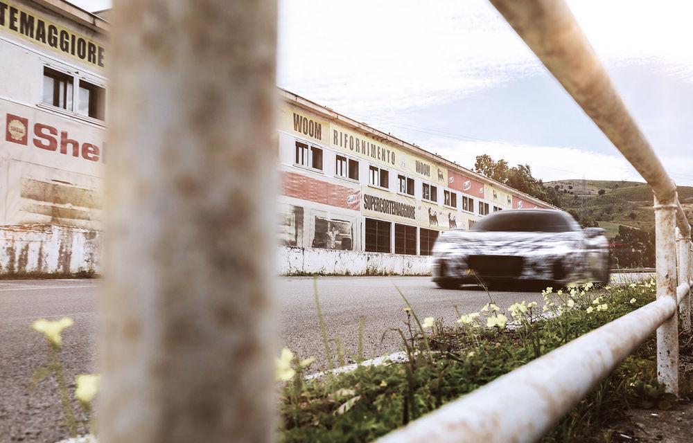 Fotografii noi cu prototipul Maserati MC20: italienii testează pe traseul competiției Targa Florio - Poza 2