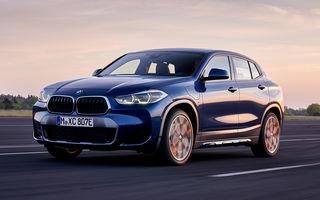 Imagini și detalii referitoare la versiunea plug-in hybrid a SUV-ului BMW X2: 220 CP și autonomie electrică de până la 53 de kilometri în regim WLTP