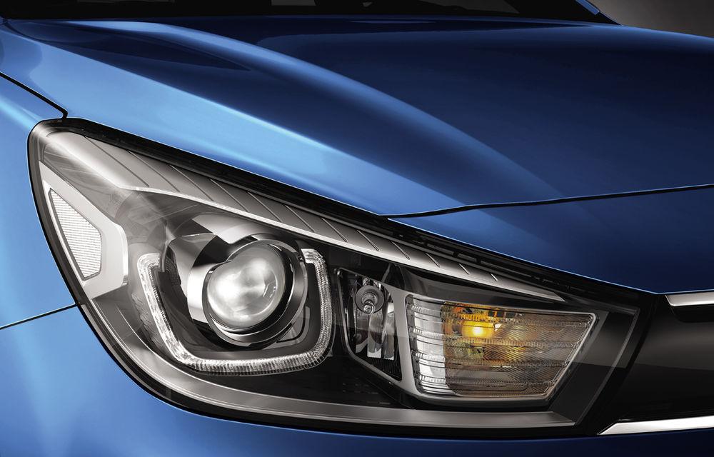 Kia Rio facelift, primele imagini și informații: subcompacta primește motorizări mild-hybrid și sistem de infotainment de 8 inch - Poza 9