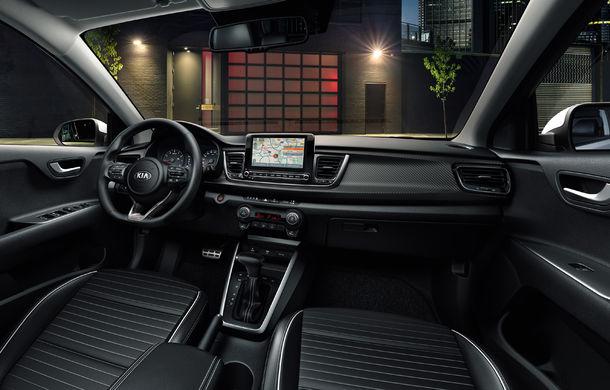 Kia Rio facelift, primele imagini și informații: subcompacta primește motorizări mild-hybrid și sistem de infotainment de 8 inch - Poza 10