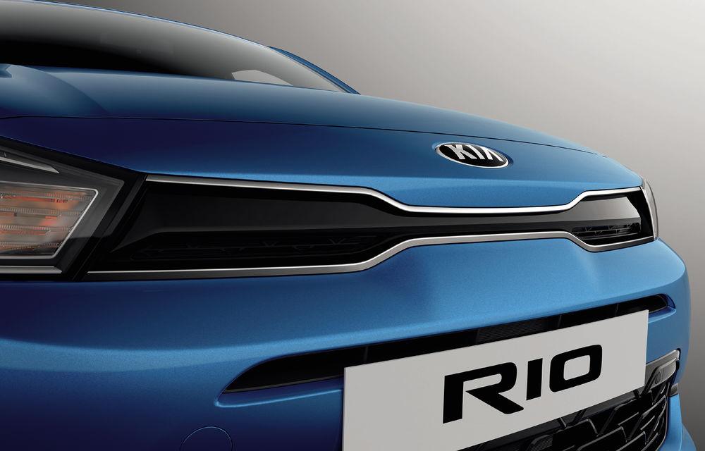 Kia Rio facelift, primele imagini și informații: subcompacta primește motorizări mild-hybrid și sistem de infotainment de 8 inch - Poza 8