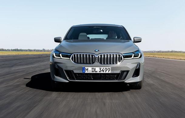 BMW a prezentat Seria 6 Gran Turismo facelift: îmbunătățiri estetice, tehnologii noi și motorizări cu sistem mild-hybrid la 48V - Poza 2