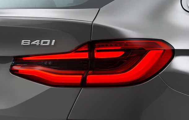 BMW a prezentat Seria 6 Gran Turismo facelift: îmbunătățiri estetice, tehnologii noi și motorizări cu sistem mild-hybrid la 48V - Poza 17