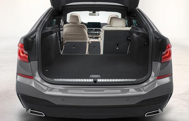 BMW a prezentat Seria 6 Gran Turismo facelift: îmbunătățiri estetice, tehnologii noi și motorizări cu sistem mild-hybrid la 48V - Poza 22