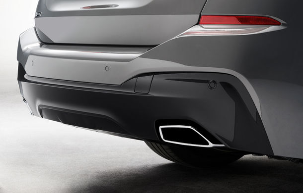 BMW a prezentat Seria 6 Gran Turismo facelift: îmbunătățiri estetice, tehnologii noi și motorizări cu sistem mild-hybrid la 48V - Poza 19
