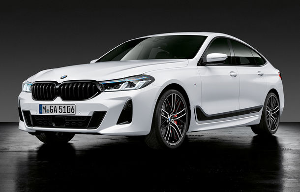 BMW a prezentat Seria 6 Gran Turismo facelift: îmbunătățiri estetice, tehnologii noi și motorizări cu sistem mild-hybrid la 48V - Poza 23