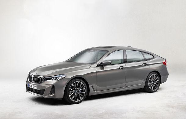 BMW a prezentat Seria 6 Gran Turismo facelift: îmbunătățiri estetice, tehnologii noi și motorizări cu sistem mild-hybrid la 48V - Poza 7