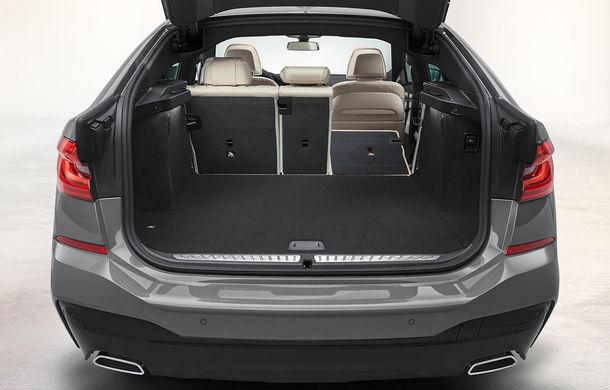 BMW a prezentat Seria 6 Gran Turismo facelift: îmbunătățiri estetice, tehnologii noi și motorizări cu sistem mild-hybrid la 48V - Poza 21