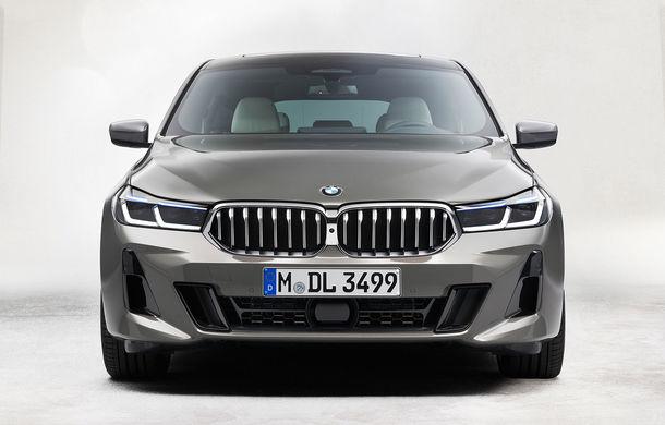 BMW a prezentat Seria 6 Gran Turismo facelift: îmbunătățiri estetice, tehnologii noi și motorizări cu sistem mild-hybrid la 48V - Poza 10
