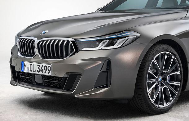 BMW a prezentat Seria 6 Gran Turismo facelift: îmbunătățiri estetice, tehnologii noi și motorizări cu sistem mild-hybrid la 48V - Poza 12