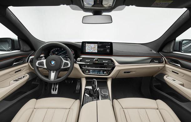 BMW a prezentat Seria 6 Gran Turismo facelift: îmbunătățiri estetice, tehnologii noi și motorizări cu sistem mild-hybrid la 48V - Poza 27