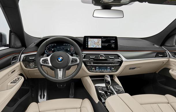 BMW a prezentat Seria 6 Gran Turismo facelift: îmbunătățiri estetice, tehnologii noi și motorizări cu sistem mild-hybrid la 48V - Poza 28