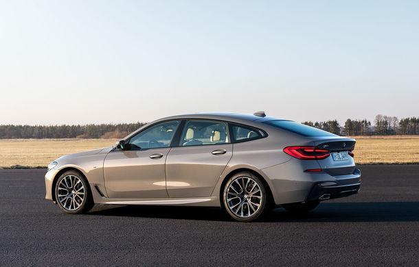 BMW a prezentat Seria 6 Gran Turismo facelift: îmbunătățiri estetice, tehnologii noi și motorizări cu sistem mild-hybrid la 48V - Poza 4
