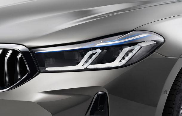BMW a prezentat Seria 6 Gran Turismo facelift: îmbunătățiri estetice, tehnologii noi și motorizări cu sistem mild-hybrid la 48V - Poza 13