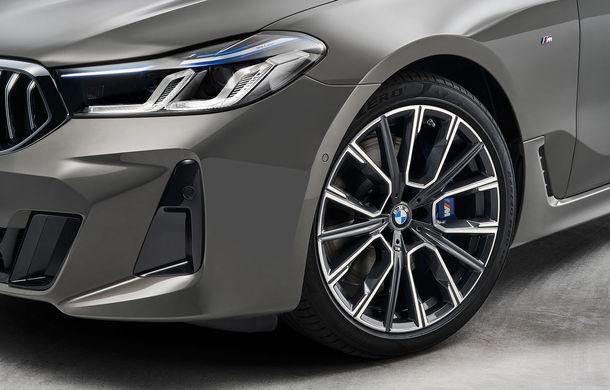 BMW a prezentat Seria 6 Gran Turismo facelift: îmbunătățiri estetice, tehnologii noi și motorizări cu sistem mild-hybrid la 48V - Poza 14