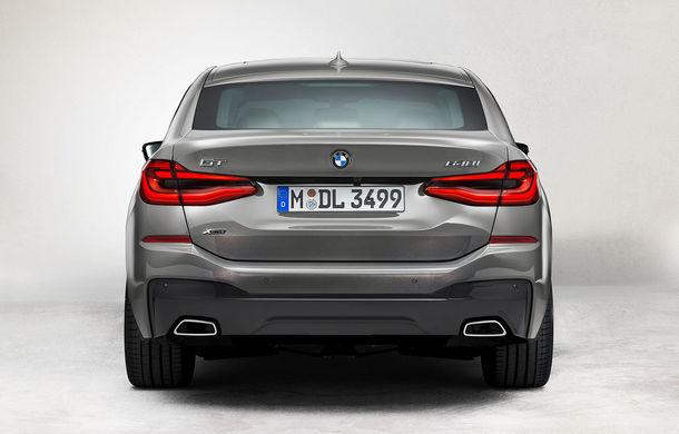 BMW a prezentat Seria 6 Gran Turismo facelift: îmbunătățiri estetice, tehnologii noi și motorizări cu sistem mild-hybrid la 48V - Poza 11