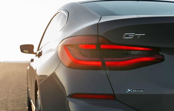 BMW a prezentat Seria 6 Gran Turismo facelift: îmbunătățiri estetice, tehnologii noi și motorizări cu sistem mild-hybrid la 48V - Poza 18
