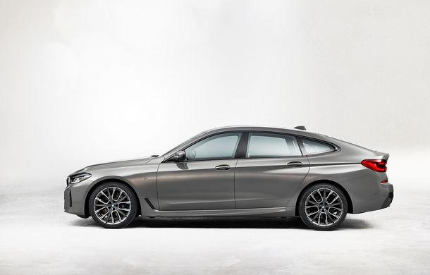 BMW a prezentat Seria 6 Gran Turismo facelift: îmbunătățiri estetice, tehnologii noi și motorizări cu sistem mild-hybrid la 48V - Poza 9