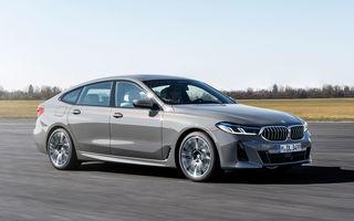 BMW a prezentat Seria 6 Gran Turismo facelift: îmbunătățiri estetice, tehnologii noi și motorizări cu sistem mild-hybrid la 48V