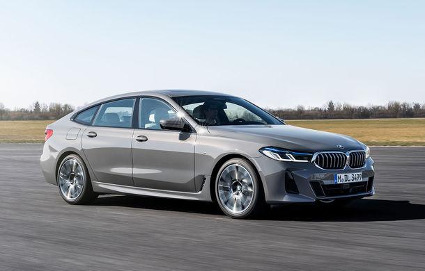 BMW a prezentat Seria 6 Gran Turismo facelift: îmbunătățiri estetice, tehnologii noi și motorizări cu sistem mild-hybrid la 48V - Poza 1