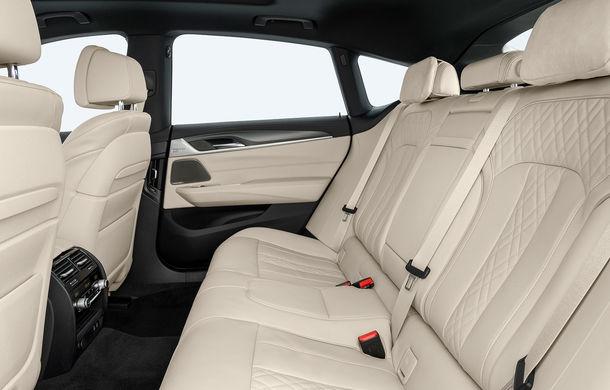 BMW a prezentat Seria 6 Gran Turismo facelift: îmbunătățiri estetice, tehnologii noi și motorizări cu sistem mild-hybrid la 48V - Poza 31