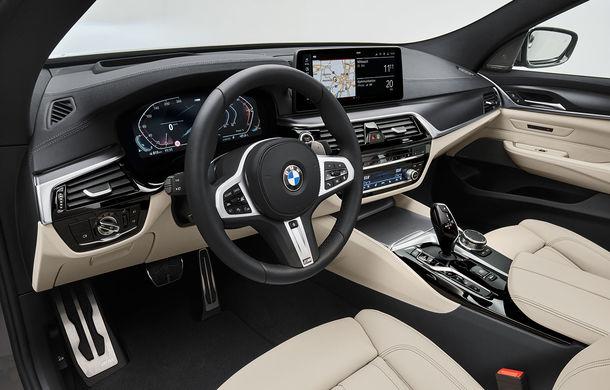 BMW a prezentat Seria 6 Gran Turismo facelift: îmbunătățiri estetice, tehnologii noi și motorizări cu sistem mild-hybrid la 48V - Poza 26