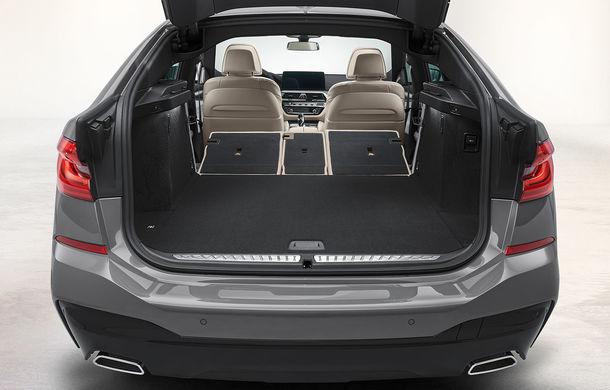 BMW a prezentat Seria 6 Gran Turismo facelift: îmbunătățiri estetice, tehnologii noi și motorizări cu sistem mild-hybrid la 48V - Poza 20