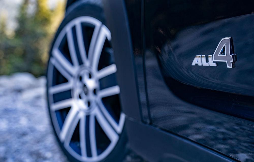 Mini Countryman facelift a fost prezentat oficial: britanicii propun îmbunătățiri exterioare, accesorii noi de interior și versiune plug-in hybrid cu autonomie electrică de până la 61 de kilometri - Poza 27