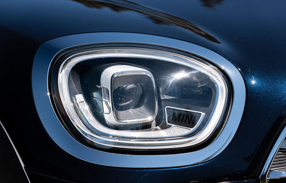 Mini Countryman facelift a fost prezentat oficial: britanicii propun îmbunătățiri exterioare, accesorii noi de interior și versiune plug-in hybrid cu autonomie electrică de până la 61 de kilometri - Poza 23