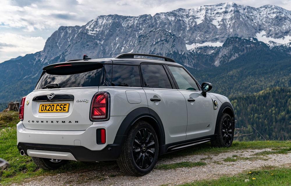 Mini Countryman facelift a fost prezentat oficial: britanicii propun îmbunătățiri exterioare, accesorii noi de interior și versiune plug-in hybrid cu autonomie electrică de până la 61 de kilometri - Poza 119