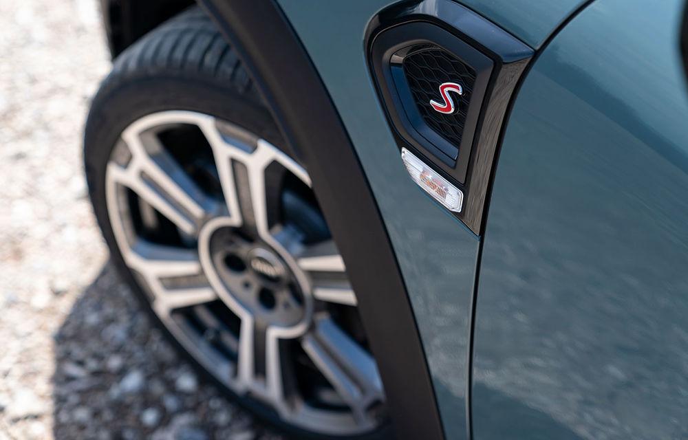 Mini Countryman facelift a fost prezentat oficial: britanicii propun îmbunătățiri exterioare, accesorii noi de interior și versiune plug-in hybrid cu autonomie electrică de până la 61 de kilometri - Poza 81
