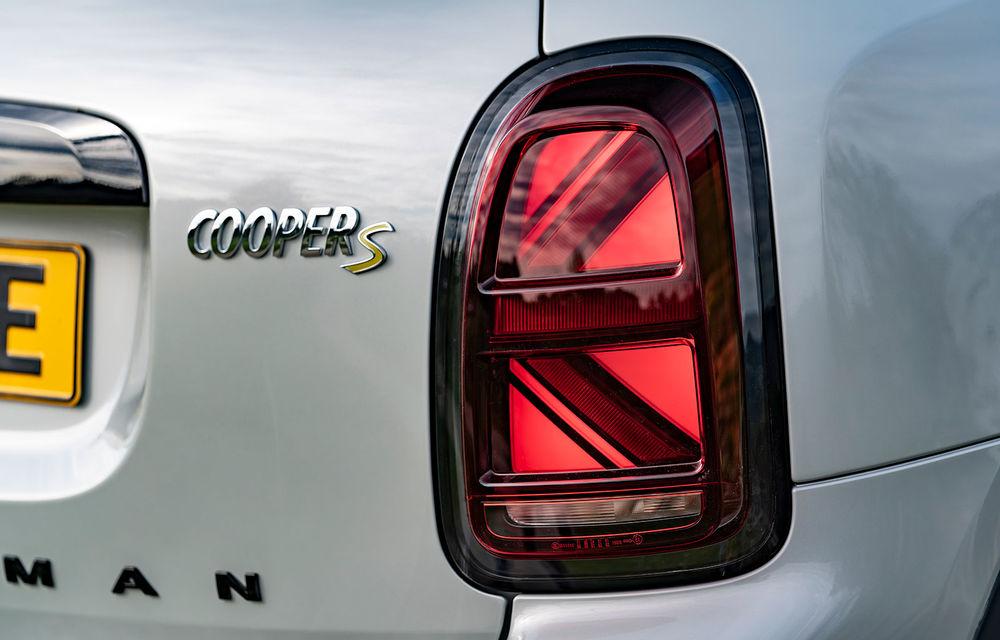 Mini Countryman facelift a fost prezentat oficial: britanicii propun îmbunătățiri exterioare, accesorii noi de interior și versiune plug-in hybrid cu autonomie electrică de până la 61 de kilometri - Poza 124