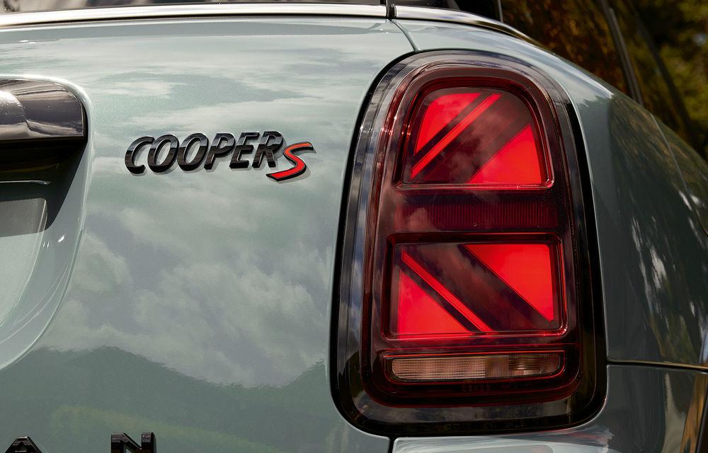 Mini Countryman facelift a fost prezentat oficial: britanicii propun îmbunătățiri exterioare, accesorii noi de interior și versiune plug-in hybrid cu autonomie electrică de până la 61 de kilometri - Poza 164