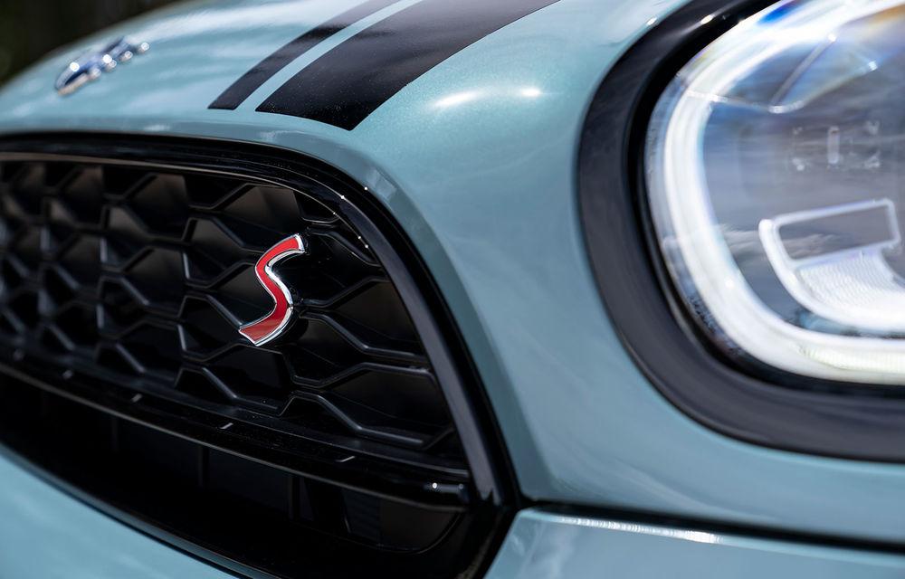 Mini Countryman facelift a fost prezentat oficial: britanicii propun îmbunătățiri exterioare, accesorii noi de interior și versiune plug-in hybrid cu autonomie electrică de până la 61 de kilometri - Poza 74
