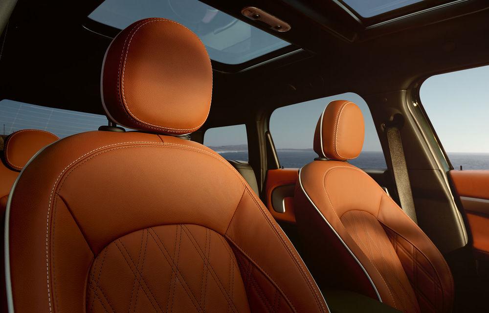 Mini Countryman facelift a fost prezentat oficial: britanicii propun îmbunătățiri exterioare, accesorii noi de interior și versiune plug-in hybrid cu autonomie electrică de până la 61 de kilometri - Poza 142