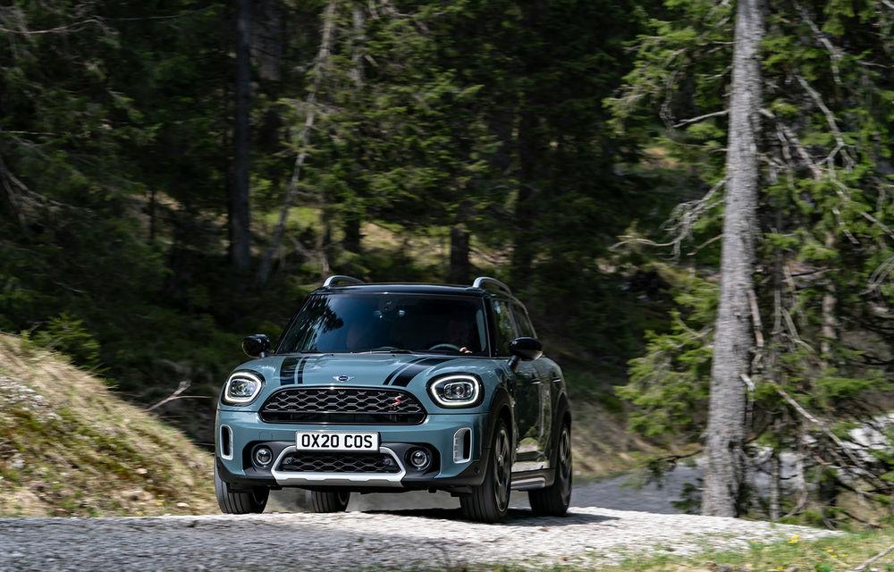Mini Countryman facelift a fost prezentat oficial: britanicii propun îmbunătățiri exterioare, accesorii noi de interior și versiune plug-in hybrid cu autonomie electrică de până la 61 de kilometri - Poza 49
